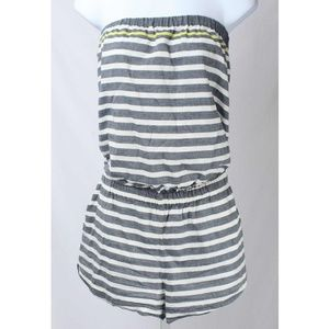 b0dfbb56363a Soft Joie Pants - Soft Joie Gidget Striped Strapless 4 Pocket Romper